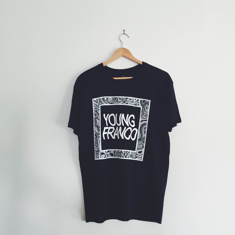 Young Franco - Black Brick Tee