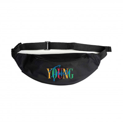 Embroidered Waist Bag